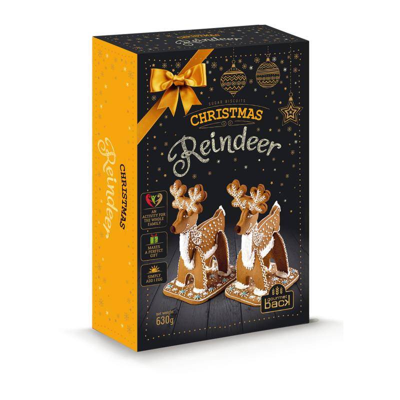 Reindeer gingerbread kit