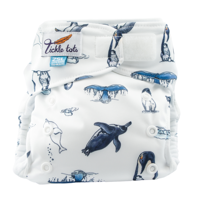 Tickle Tots 2 Polar Reusable Nappy