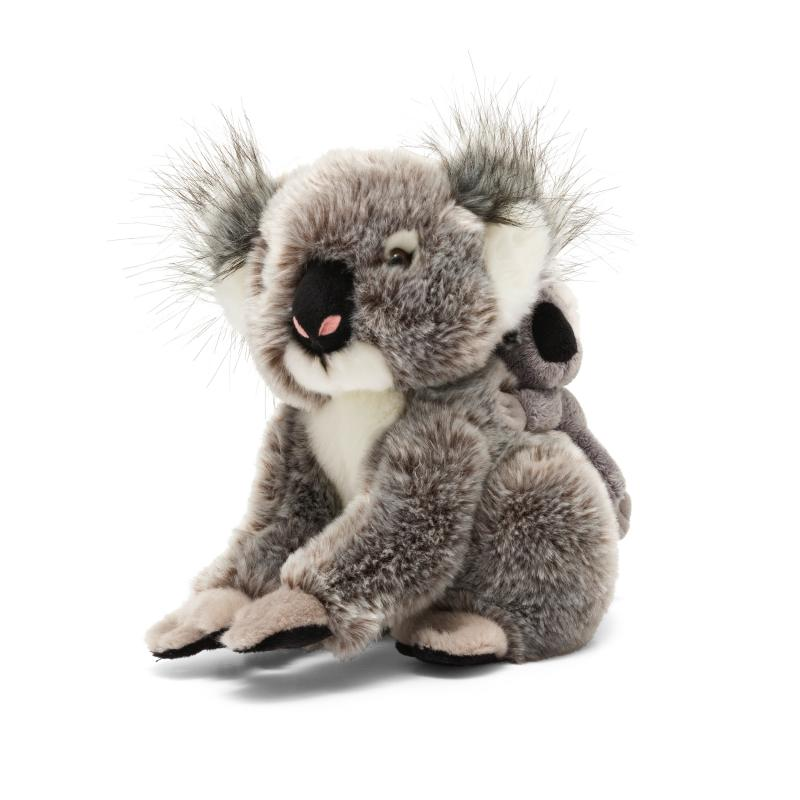 Koala and baby soft toy, 30cm soft toy