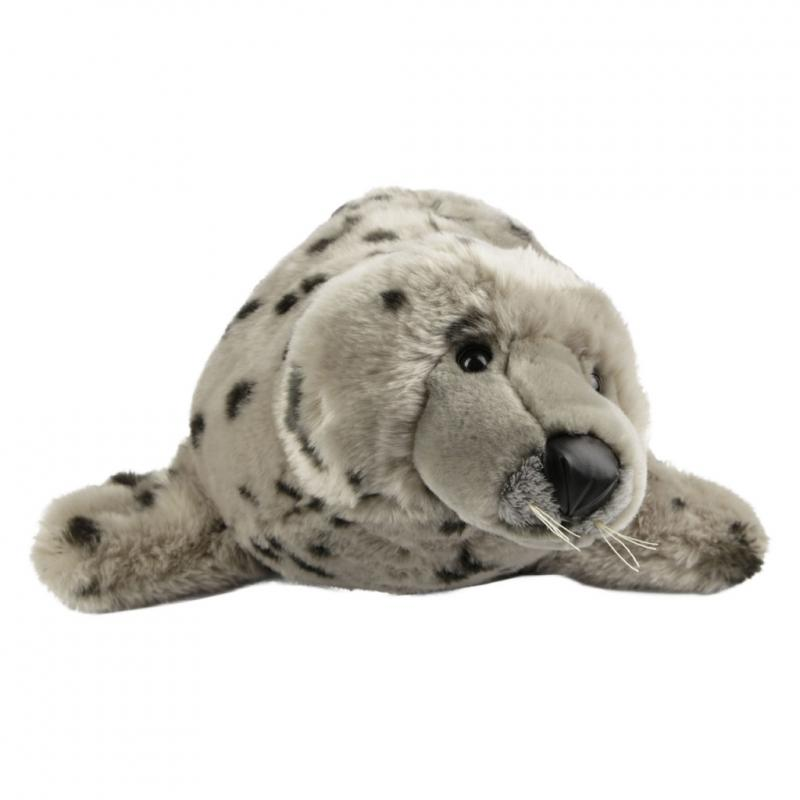Seal pup soft toy, extra large