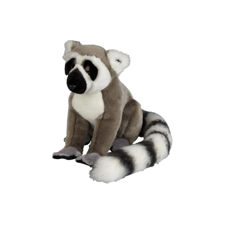 Ring tailed lemur soft toy, 23 cm