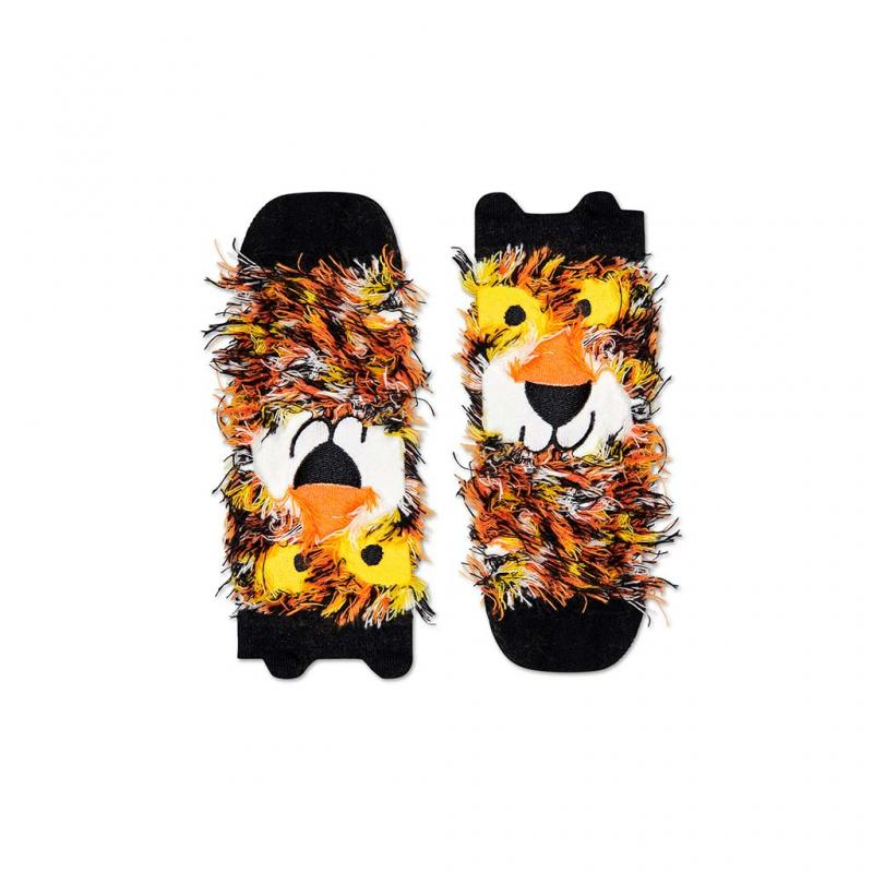 Lion Fluffy Happy Socks, Children (4-6Y)