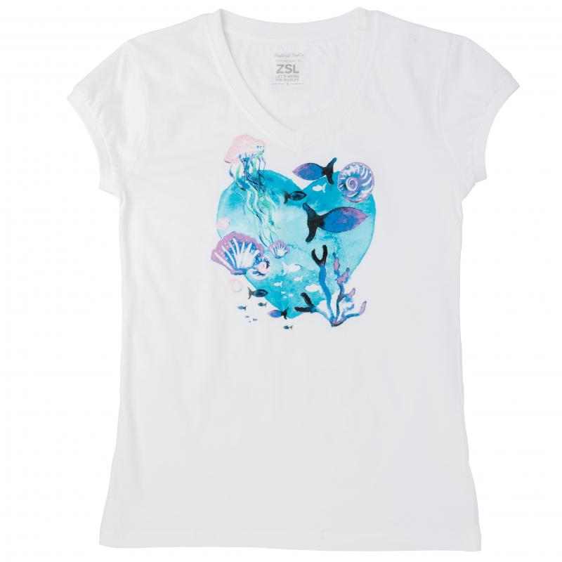 Ladies' Under the sea t-shirt, S