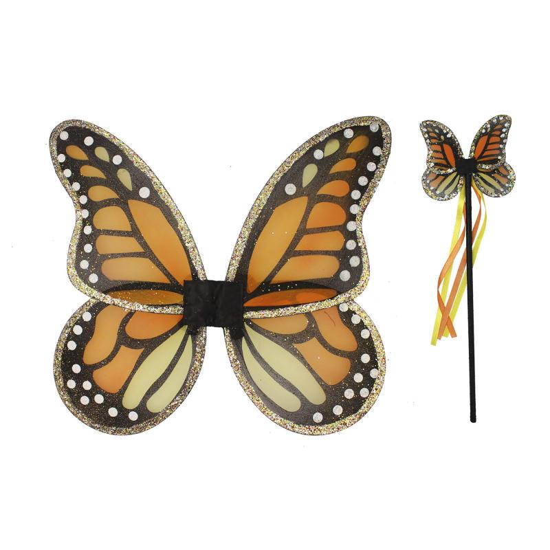 Monarch butterfly fancy dress set