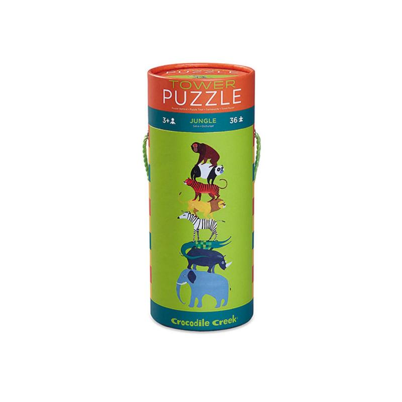 Jungle tower puzzle