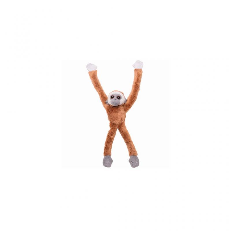 Gibbon Plush Magnet, Brown
