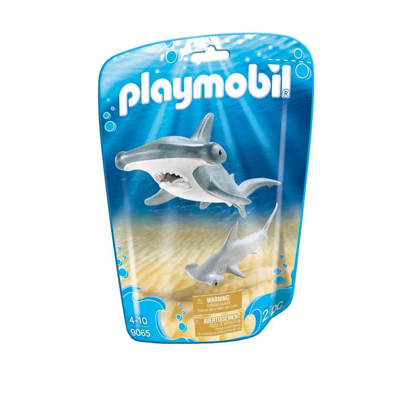 Playmobil Hammerhead shark medium pouch