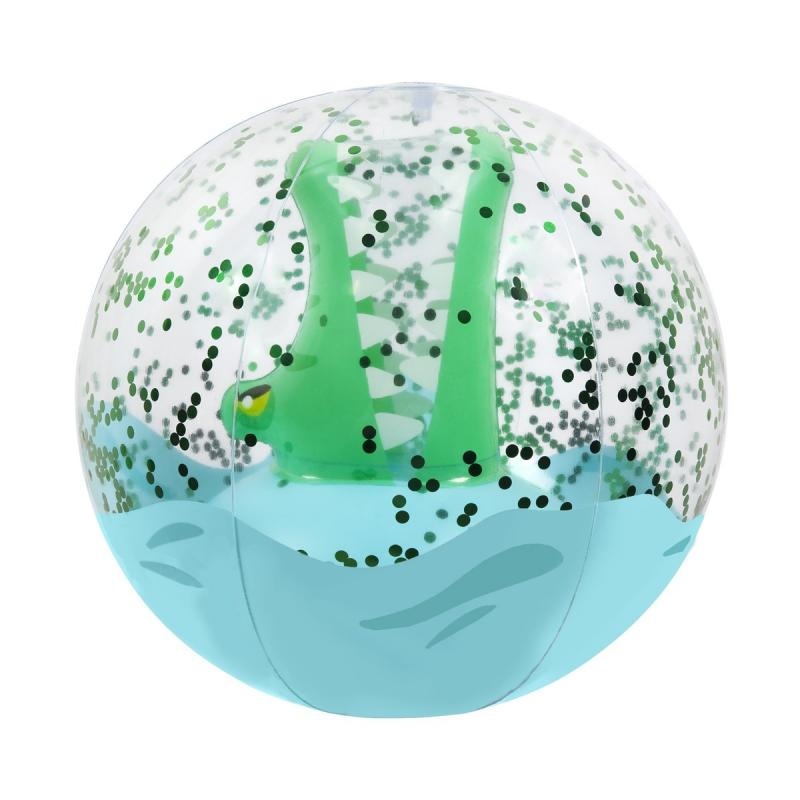 Sunnylife 3D Crocodile Inflatable Beach Ball
