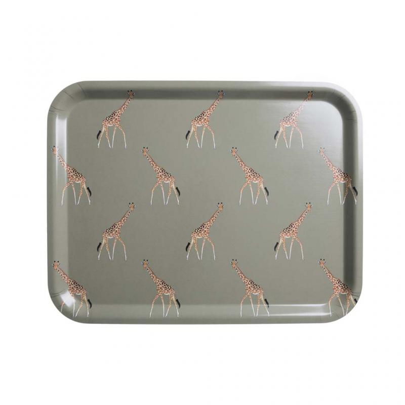 Sophie Allport Giraffe Printed Tray, Large