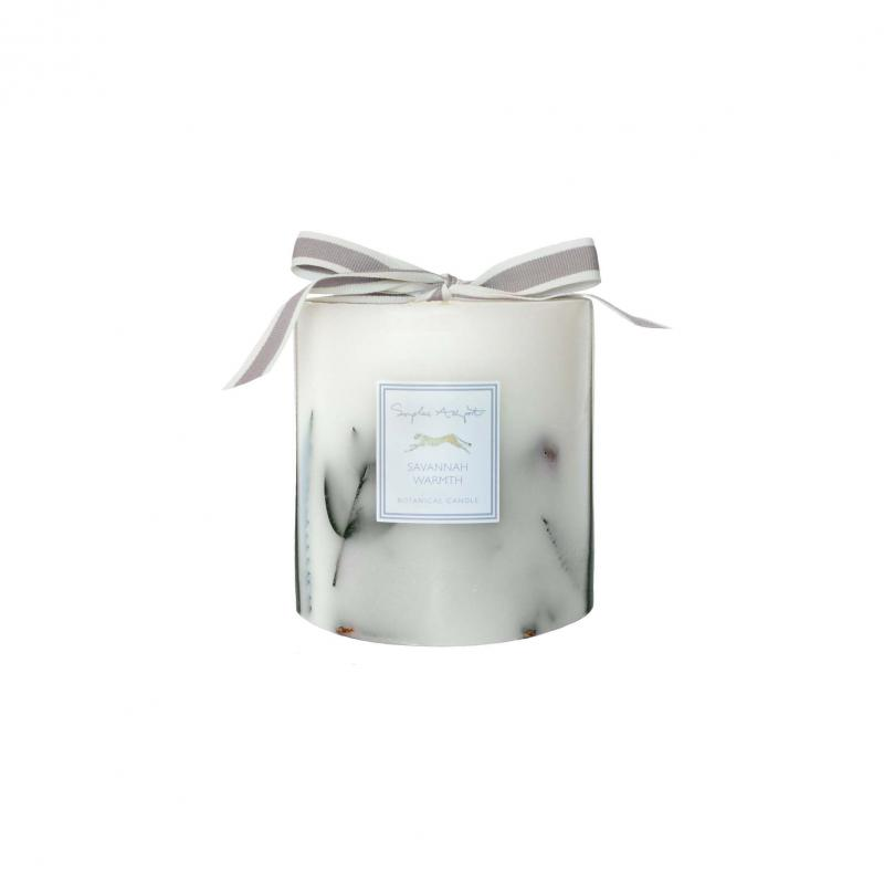 Savannah Warmth Botanical Cheetah Candle, 690g