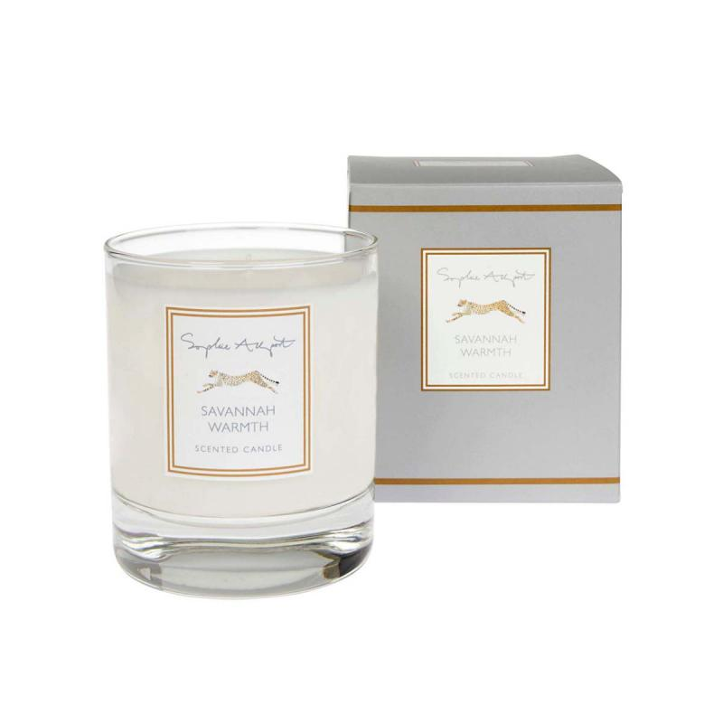 Savannah Warmth Cheetah Candle, 220g