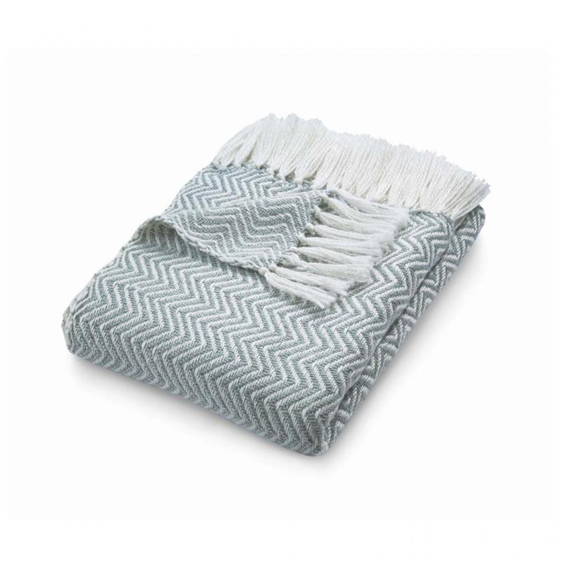 Eco-Friendly Throw, Grey