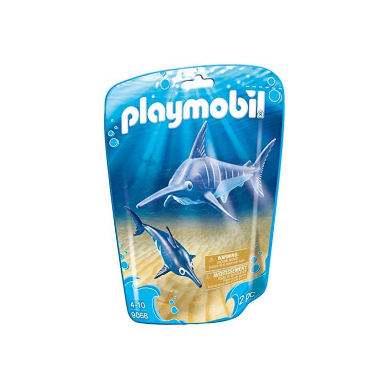 Playmobil Swordfish and baby pouch
