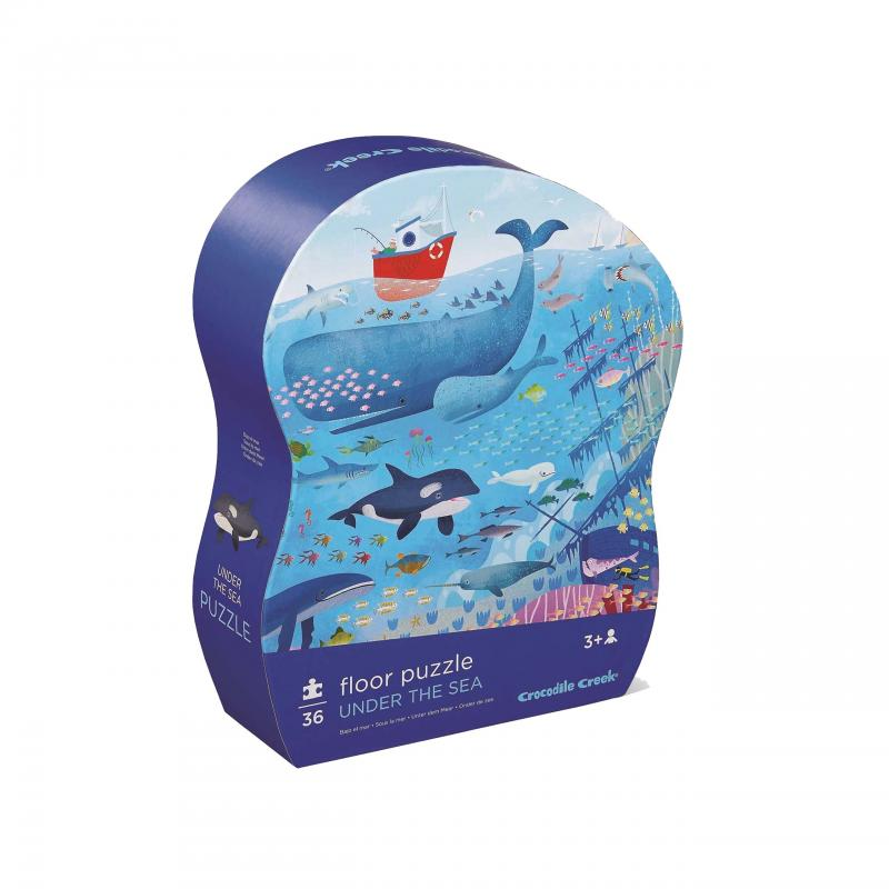 Under the sea Jigsaw puzzle, 36 Pieces