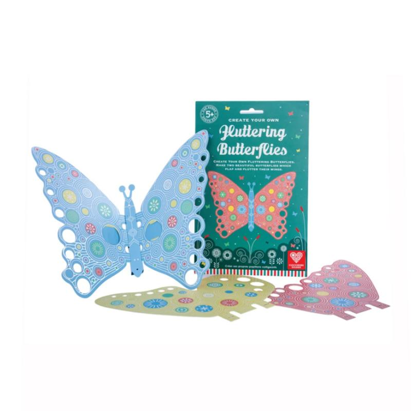 Create Your own Fluttering Butterflies