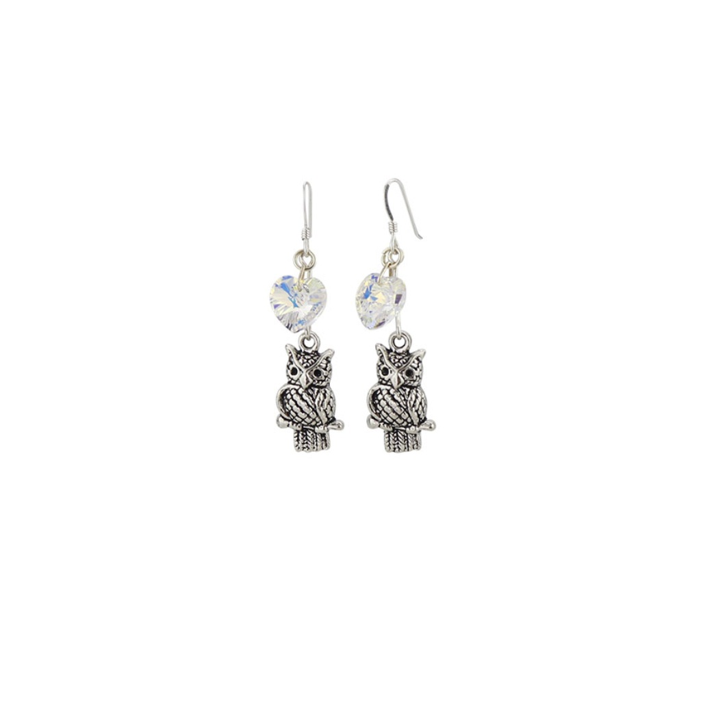 Owl Charm earrings