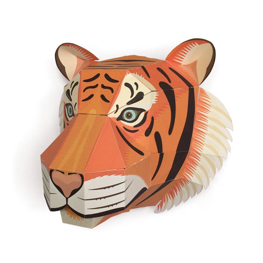 Make your Own Tiger Head
