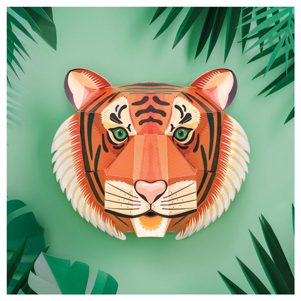 Make your Own Tiger Head lifestyle
