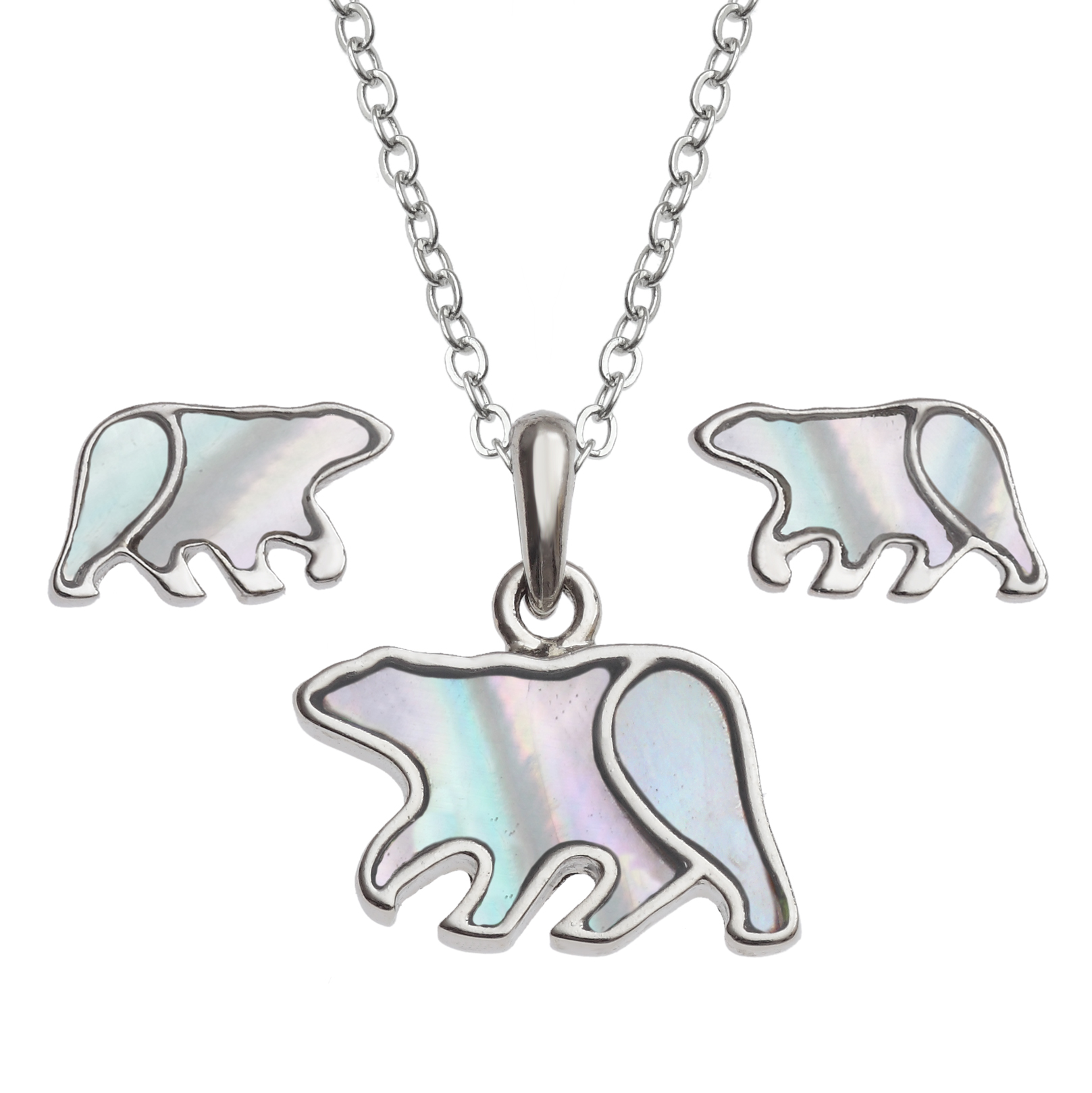 Polar Bear Jewellery set