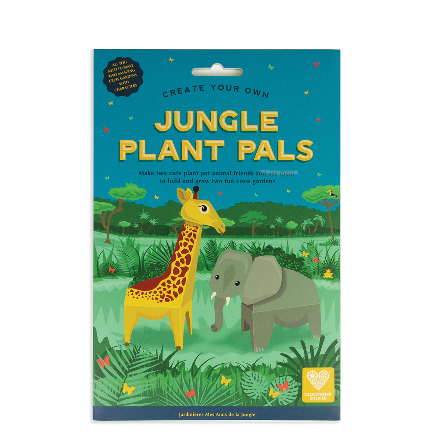 Create Your Own Jungle Plant Pals pack