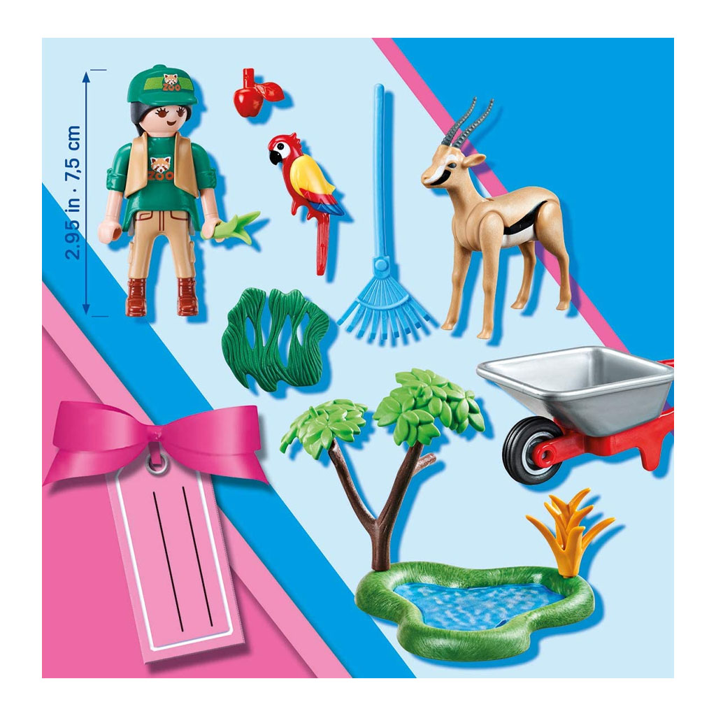 Playmobil Zoo Gift Play Set pieces